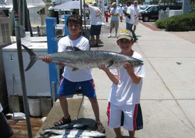 BItzas_Kids_Christian_Holding_King_Mackeral