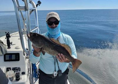 Jimmys_Fishing_Charters_Holding_Grouper